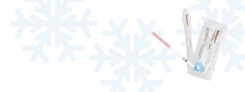 Kan graviditetstest tåle frost?