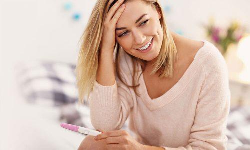 Man tage har menstruation kan man graviditetstest når Hvornår skal