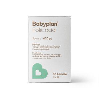 Babyplan folsyre - Folinsyre