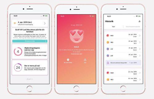 Eveline ægløsningstest med App der holder styr på din