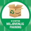 MiljøvenligPakning badge