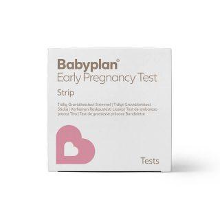 Babyplan Tidlig Graviditetstest Strimmel - 5 stk - Køb her
