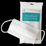 Mundbind type II hvid